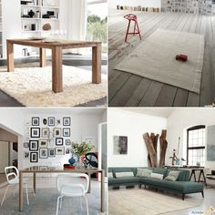 Modern wood furniture for a nordic style home.