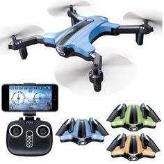 Foldable Durable Quadcopter Aircraft Helicopter Drone APP FPV Hover Altitude Hold Item Specifics: Brand Name: Esddi Aerial Photography: Yes Camera Integration: Camera Included Sensor in… Drones, Drone Quadcopter, Drone App, Cheap Cameras, App Control, Video Camera, Wi Fi, Consumer Electronics, Hold On