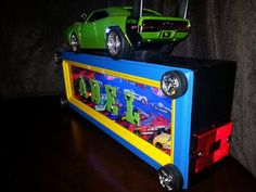 Personalized Night Light Hot Wheels theme by CustomNightLightsLED