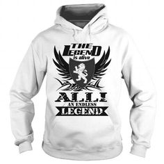 Awesome Tee ALLI - The Legend is alive - An Endless Legend T-Shirts