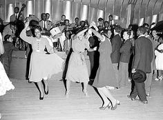 Lindy Hop at The Savoy!!!!! My Mom, a white Swedish gal, talked about doing the Lindy Hop at the dances she used to go to as a young woman in Winnipeg, Manitoba, Canada. I always loved that phrase because it brought back such fun times for my Mom.