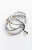 mixed-beads & agate bracelet | J.Jill