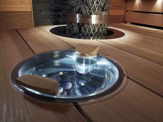 Saunagalleria I SUN SAUNA Oy I Ideoita saunaremonttiin, saunaideat Sauna Design, Saunas, Dog Bowls, Spa, Country Houses, Steam Room