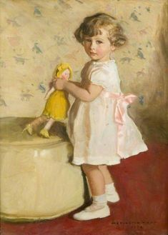 harrington mann(1864–1937), christine, 1934. oil on canvas, 99.1 x 73.7 cm. glasgow museums, uk http://www.bbc.co.uk/arts/yourpaintings/paintings/christine-85107