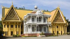 colonial architecture phnom penh - Google Search Colonial Exterior, Colonial Architecture, Phnom Penh, Outdoor Living, Google Search, Outdoor Life, The Great Outdoors, Outdoors, Bushcraft