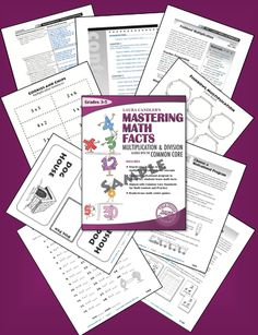 Mastering Math Facts Sampler