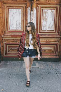Outfit: Blazer And Sandals ~ dontbearunaway