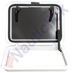 ESCOTILLA RESINA BLANCA 426 X 426MM Modelo  059103 Condición  Nuevo  G966X-2100
