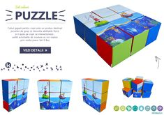 Puzzle set for group games that develop physical skills and help children interact, so the knowledge and learning activities will be achieved through a lot of play. #softplay @cubepuzzle #cubeset #puzzel #playground • Best regards, Kinderfun™ Soft Play România » www.kinderfun.ro Physical Skills, Soft Play, Group Games, Learning Activities, Playground, Physics, Cube, Knowledge, Puzzle
