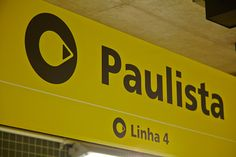Wayfinding Project {Signage and Visual Communication} for installations of all stations of of São Paulo Metro.