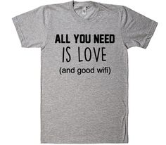 All you need is love t-shirt – Shirtoopia