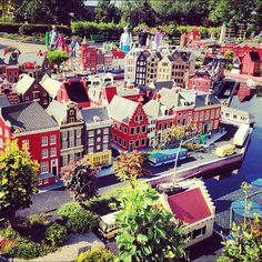 Legoland Deutschland is a Legoland park located in Günzburg in southern Germany, roughly half way from Munich to Stuttgart, which opened in 2002. It is 43.5 hectares in area, and it is one of the four most popular theme parks in Germany.