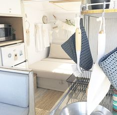 Vintage Viscount Caravan Renovation.  Gypsy boho interior.