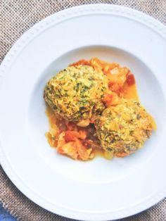 Gondi (Persian Turkey Rice Dumplings)