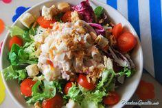 Aprende a preparar ensalada verde con atún con esta rica y fácil receta.  La tradicional mezcla de atún y cangrejo pero con un toque diferente y listo para hacer una...
