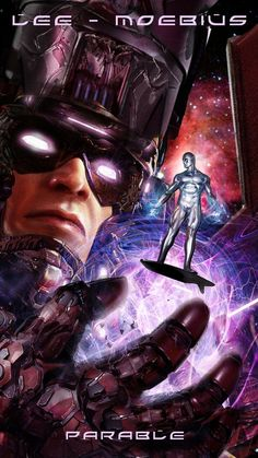 Galactus and Silver Surfer by John Gallagher *