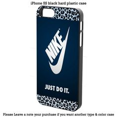 Nike Just Do It chettah Cover iPhone 4 4s 5 5s 5c 6 6s 6+ 6s+ Samsung Case