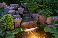 Rock Water Fountains | Backyard Landscaping Ideas Water Fountains Waterfalls Or Garden - Home ...