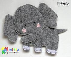 Elefante - Quiet Book