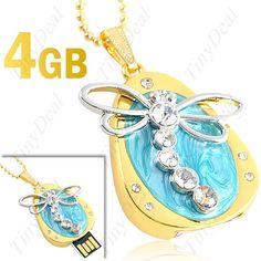 4GB USB 2.0 Флэш-накопитель/U диск в дизайне стрекозы CUD-33950