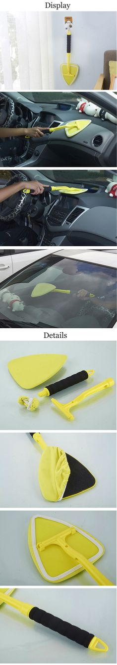 US$9.99 180 Degree Rotating Cleaning Brush Car Household Duster Cleaning Tools