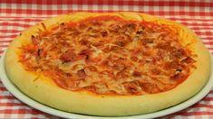 Cómo hacer masa de pizza gruesa y esponjosa / Receta fácil