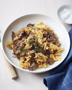 Pressure Cooker Beef Stroganoff. Cook 10 mins longer in pressure cooker. Add in cayenne.