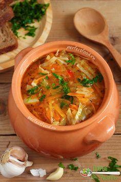 Как приготовить постные щи из свежей капусты - рецепт с фото
