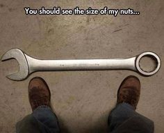 This is bad but you get a workout  twisting these wrenches