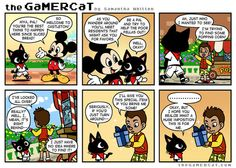 The GaMERCaT and Mickey Mouse