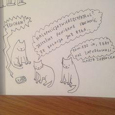by Marta Zabłocka zycie-na-kreske.blogspot.com Funny, Funny Parenting, Hilarious, Fun, Humor