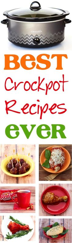 Crockpot Recipes! You'll love making these easy recipes in your slow cooker!   NeverEndingJourneys.com