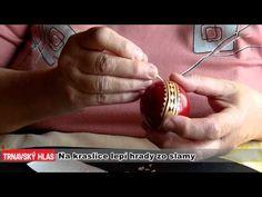 Na kraslice lepí hrady zo slamy (Egg decoration by barley straw. - Instructional video in Slovak.) Slovak Recipes, Autumnal Equinox, Egg Designs, Egg Art, Egg Decorating, Egg Shells, Easter Eggs, Decoupage, Arts And Crafts