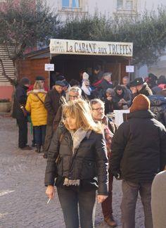 Trüffelmarkt Saint-Paul-Trois-Châteaux - Der Markt