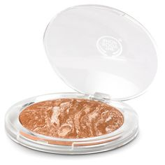 For a glowy, shimmery bronzer, Warm Glow by Body Shop is an amazing bronzer. Lights up fair complexions in a second. Subtle sunkissed effect.