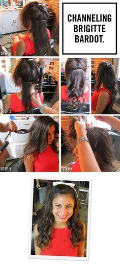 Channeling Brigitte Bardot: How to Get Bombshell Hair