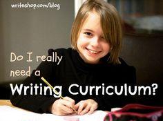 Do I Really Need a Writing Curriculum? | Helpful Homeschool Checklist