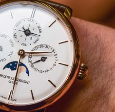 Frédérique Constant Slimline Perpetual Calendar Manufacture Watch Hands-On…