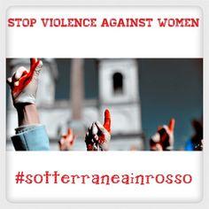 #sotterraneainrosso contro la Violenza sulle Donne