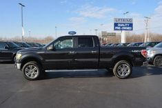 "20"" Wheels on Black Ford F-150"