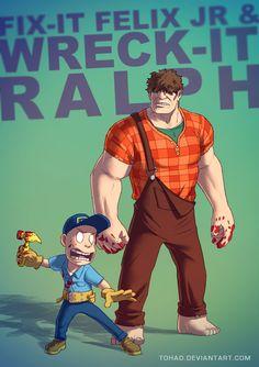 Wreck-it Ralph BADASS by Tohad on DeviantArt