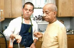 Cooking Chapatis for Srila Prabhupada. Harikesa das: I had been cooking for Prabhupada for a long time, but I really had a hard time making chapatis because we were always in places where there wer… Krishna Sudama, Hare Krishna, Srila Prabhupada, Lord Krishna Images, God Pictures, Spiritual Life, Cooking, Saints, Thoughts