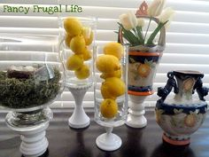 another way to use vases.....i have sooo many!