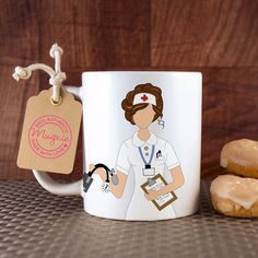 Custom Mug  Perfect Gift for a Nurse or Graduation Gift by Mugxie, $15.99