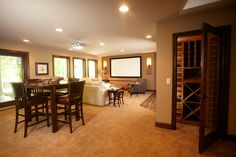 Creek Ridge Court - Minnetonka, MN - traditional - basement - minneapolis - Schrader & Companies