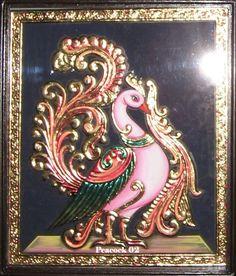 Tanjore Painting, Types Of Art, Peacocks, Indian Art, Folk Art, Sculpture, Statue, Google Search, Indian Artwork