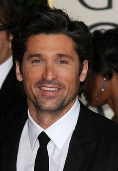 Patrick Dempsey.... I'd like my own McDreamy for sure!