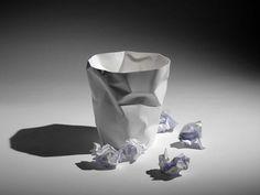 Bin Bin Papierkorb in weiß - Ausstellungsstück von Klein & More | designandmiles - exklusives ambiente inklusive Bonus - designandmiles