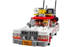 Ghostbusters LEGO - The new Ghostbusters LEGO has been released in advance of the release of the new Ghostbusters movie, which is set for July release. This LEGO set c. The Real Ghostbusters, Ghostbusters Reboot, Ghostbusters Toys, Legos, Lego Kits, Magic Johnson, Buy Lego, Products, Cars