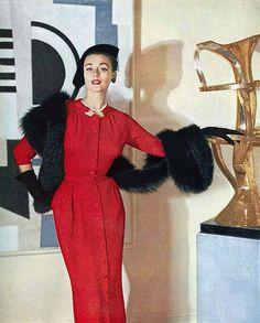 1952 Dorian Leigh by myvintagevogue